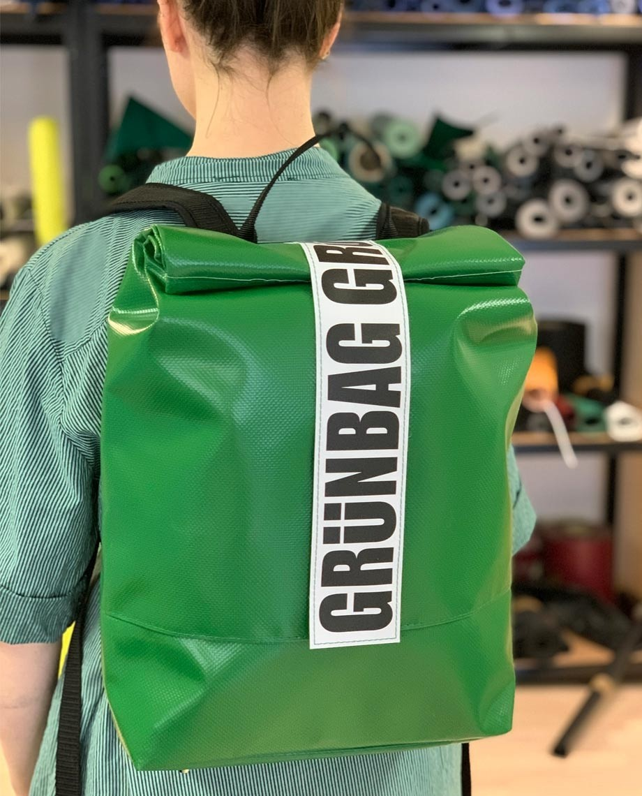 Grass Green Backpack Norr