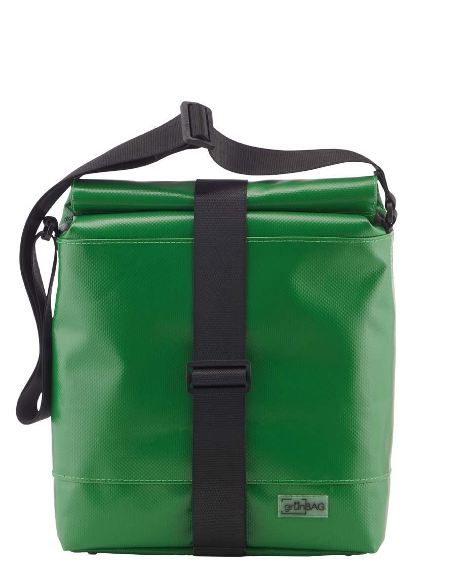 Grass Green Shoulder Bag City Strap