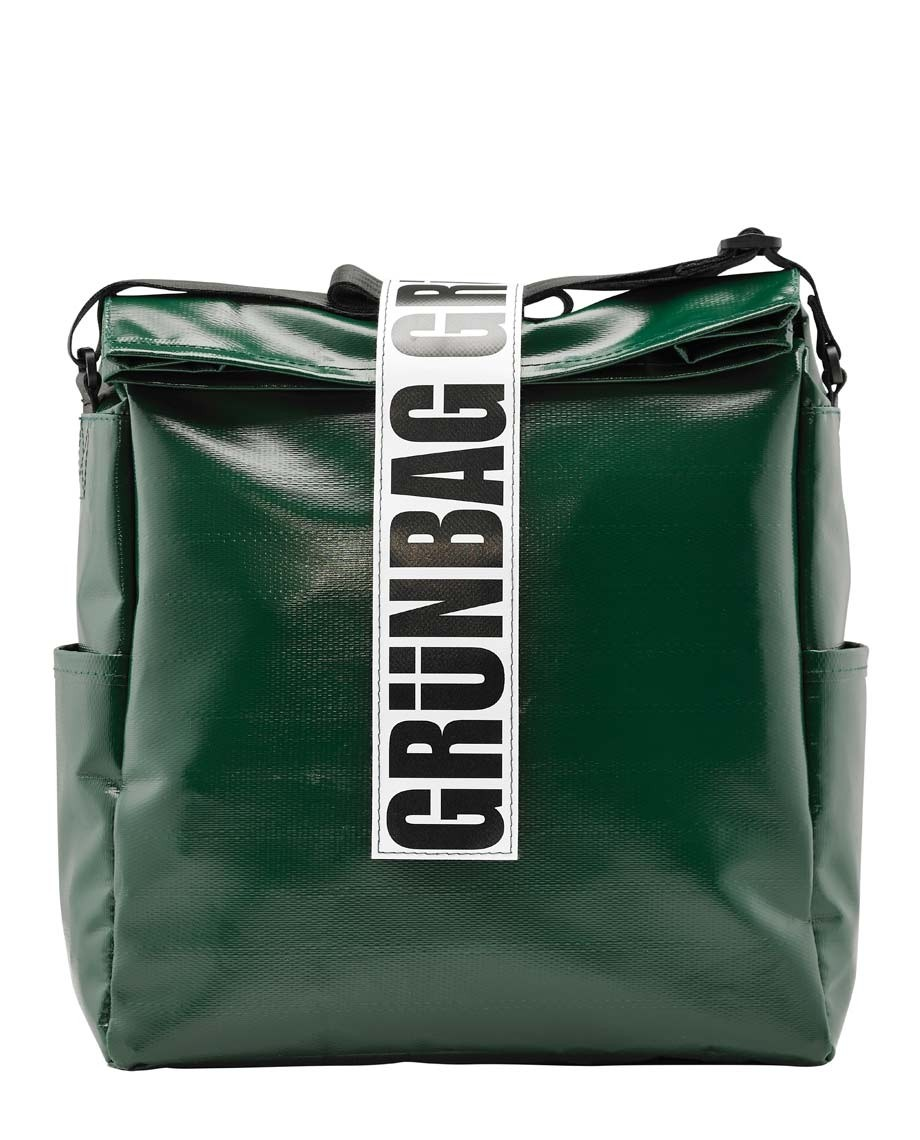 Green Shoulder Bag Architect