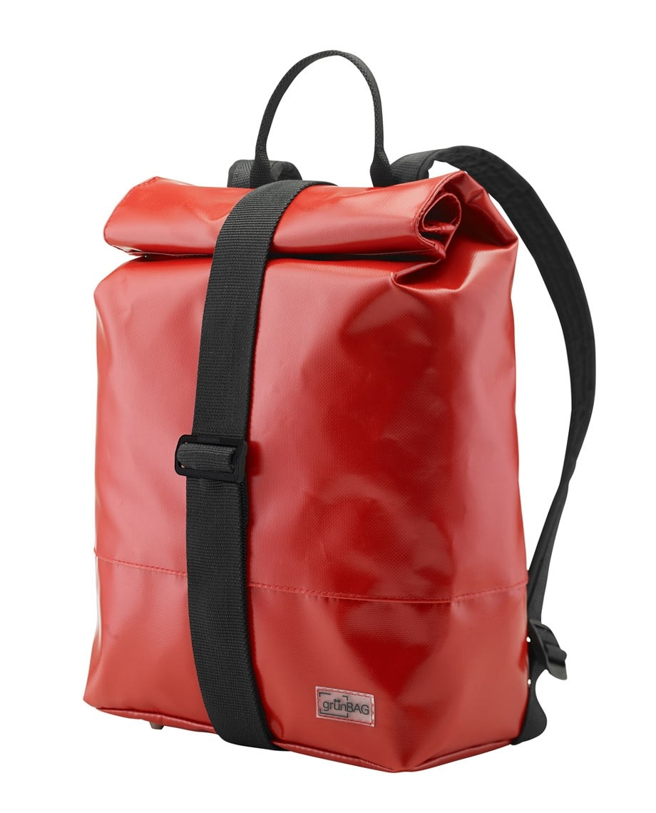 Red Backpack Norr Strap