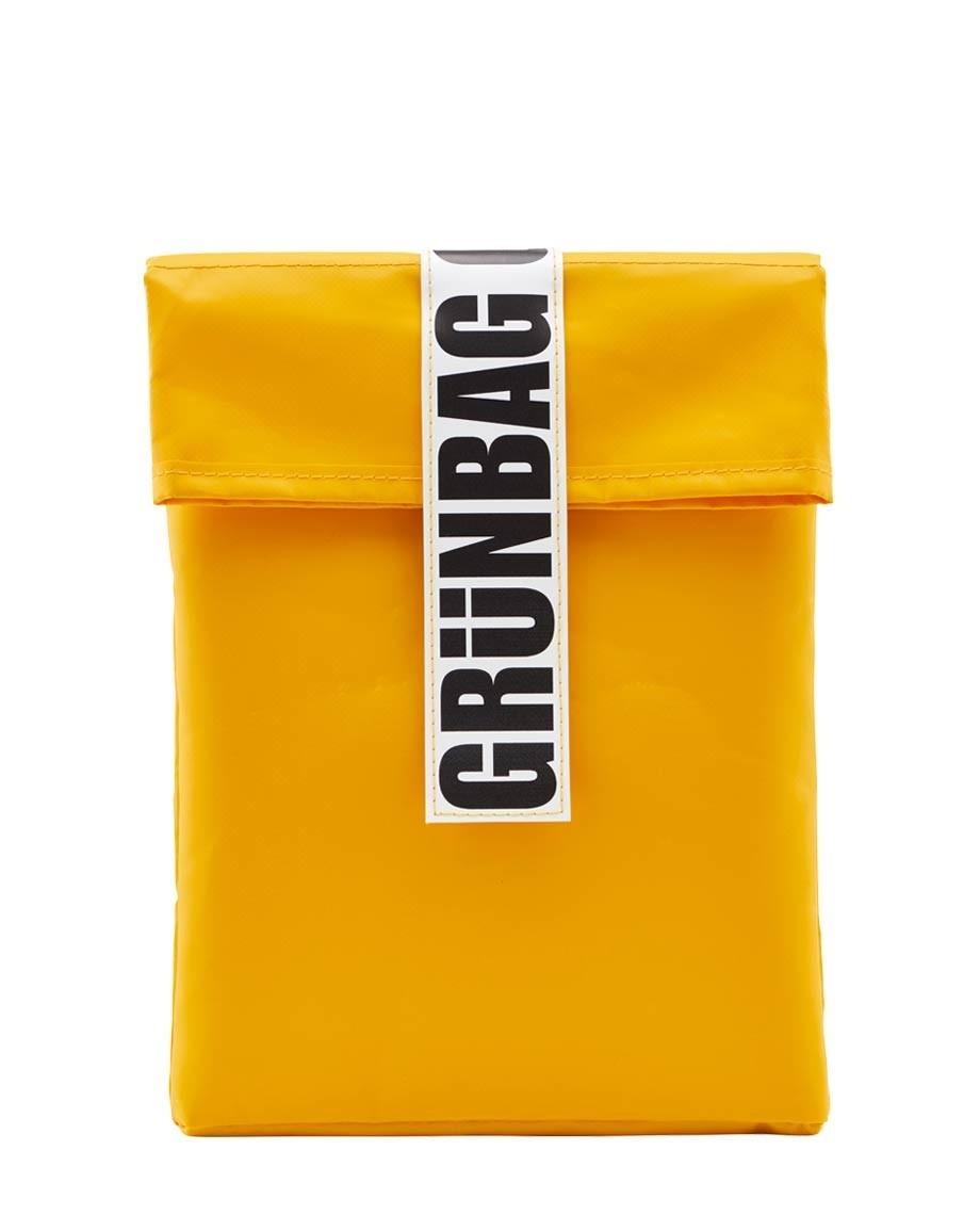 "Yellow GRÜNBAG Sleeve 13"""