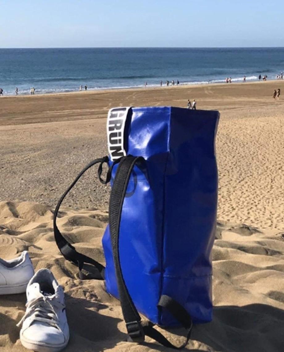 Blue Backpack Norr