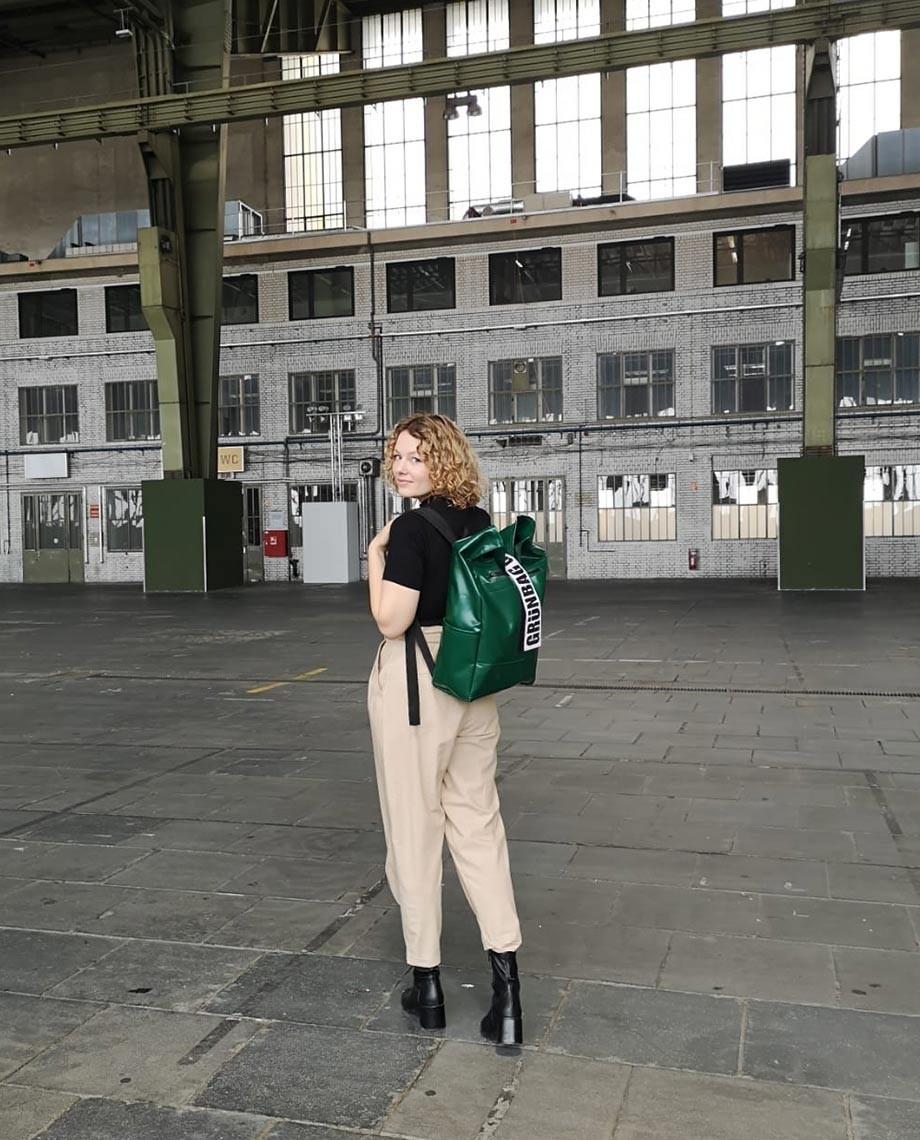 Green Backpack Alden