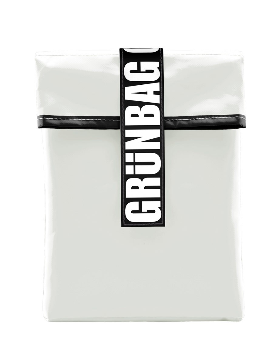 "White GRÜNBAG Sleeve 15"" - 16"""
