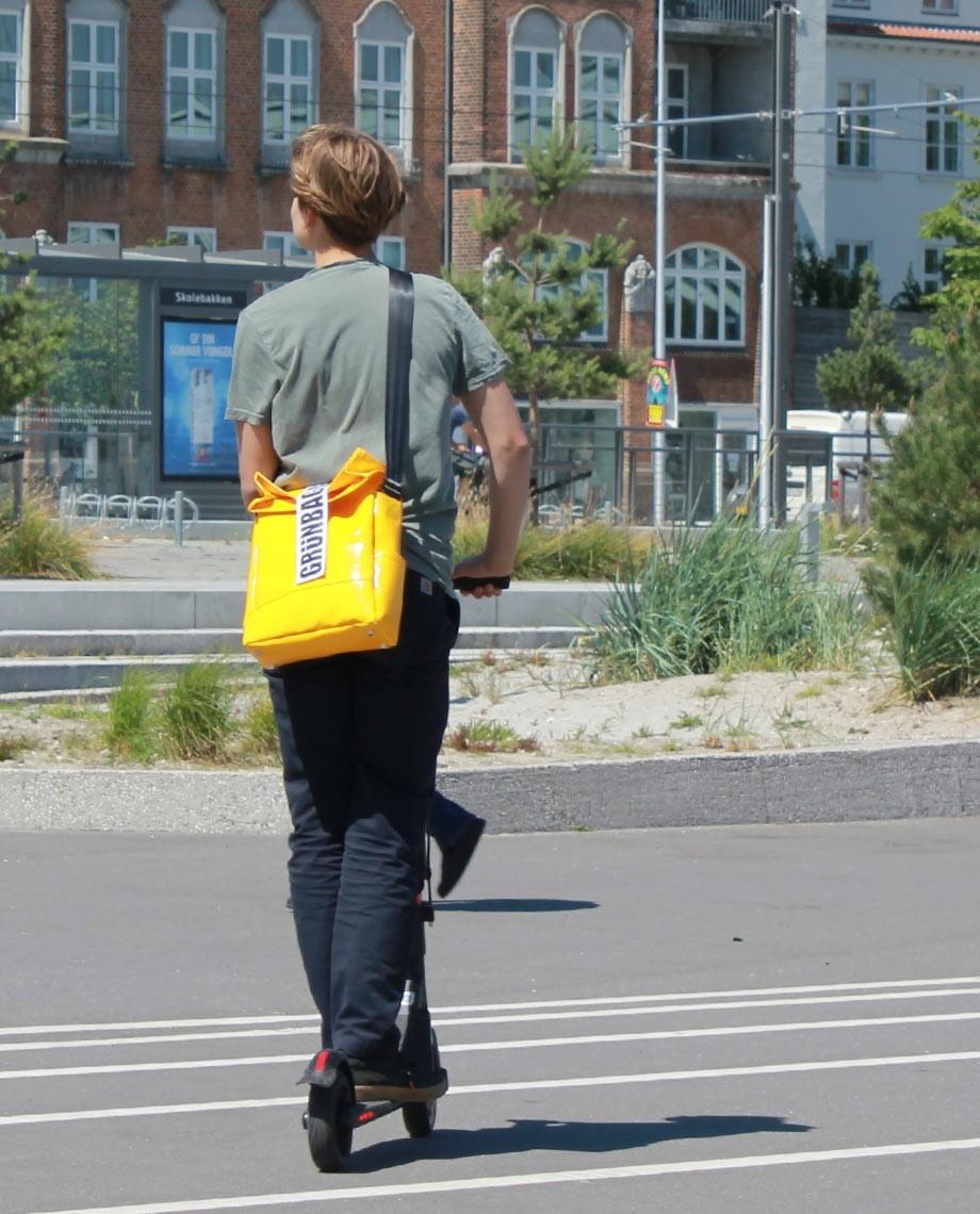 Yellow Shoulder Bag City-06