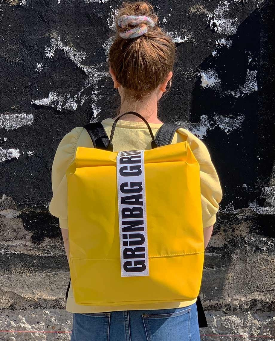 Yellow Backpack Norr