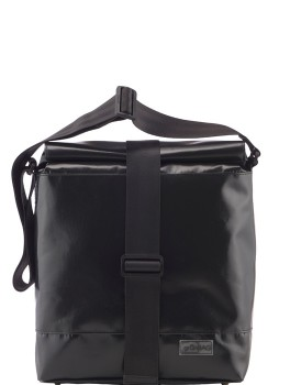 Black Shoulder Bag City Strap-20