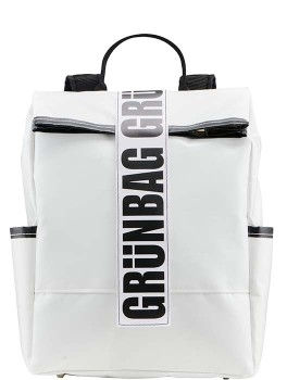 White Backpack Alden-20